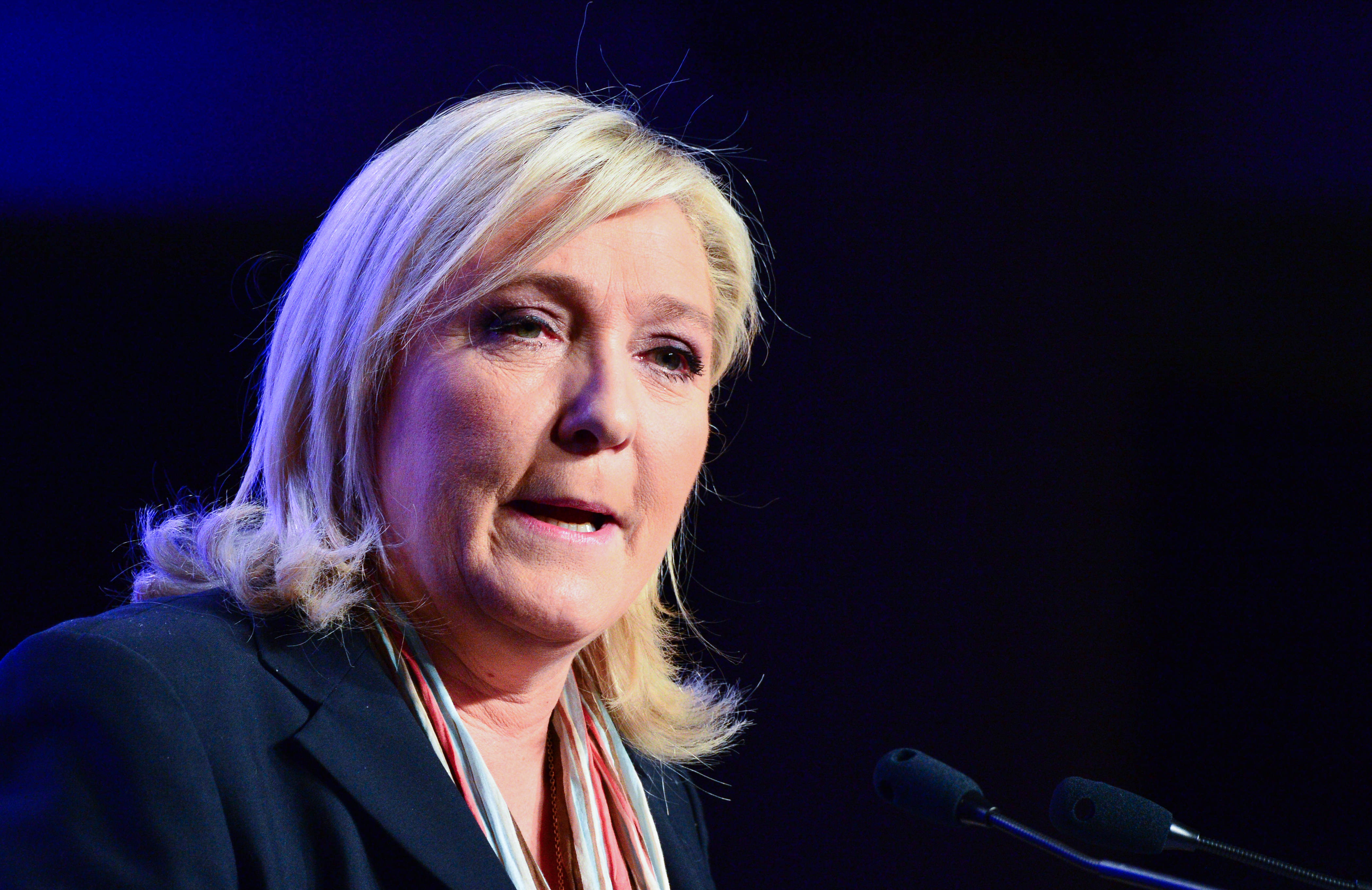French Far-Right Party Leader: Trump's Muslim Ban Goes Too Far