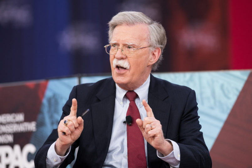 OXON HILL, MD, UNITED STATES - 2018/02/22: John Bolton, Former United States Ambassador to the United Nations, at the Conservative Political Action Conference (CPAC) sponsored by the American Conservative Union held at the Gaylord National Resort & Convention Center in Oxon Hill. (Photo by Michael Brochstein/SOPA Images/LightRocket via Getty Images)