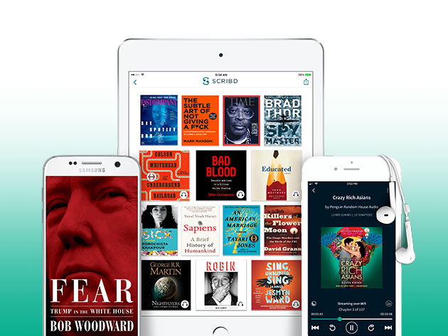 Scribd's massive library of content gives you unlimited books, articles and magazines from top publishers every month.
