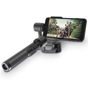 Tricky angles and shaky videos are no match for the Rigiet Smartphone Gimbal.