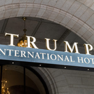 WASHINGTON, DC, UNITED STATES - 2018/11/12: Trump International Hotel Washington, D.C. in Washington, D.C. (Photo by Michael Brochstein/SOPA Images/LightRocket via Getty Images)