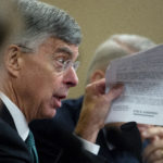 UNITED STATES - NOVEMBER 13: William Taylor, the senior U.S. diplomat in Ukraine, holds up a copy of the the transcript of a phone call between President Donald Trump and Ukrainian President Volodymyr Zelenskiy as he testifies before the House Intelligence Committee hearing on the impeachment inquiry of President Trump in Longworth Building on Wednesday Nov. 13, 2019. (Photo by Caroline Brehman/CQ Roll Call)