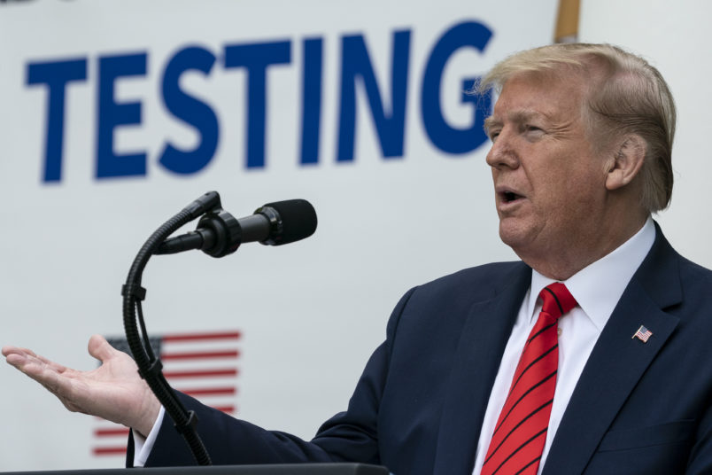 Trump Admin Scales Back Mandate That Health Insurers Cover COVID Tests