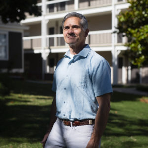 ANNISTON, AL - MAY 13- Alabama State Senator and President Pro Tem Del Marsh poses for a photo on the grounds of the hotel he owns on Monday, May 13, 2019 in Anniston, AL. (Photo by Elijah Nouvelage for The Washington Post)