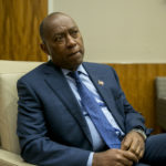 HOUSTON, TEXAS - November 1, 2017: Houston Mayor Sylvester Turner at Houston City Hall. (Photo by Ilana Panich-Linsman for The Washington Post)