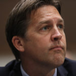Sen. Ben Sasse, R-Neb., listens during a Senate Judiciary Committee business meeting to consider authorization for subpoenas relating to the Crossfire Hurricane investigation, and other matters on Capitol Hill in Washington, Thursday, June 11, 2020. (AP Photo/Carolyn Kaster, Pool)