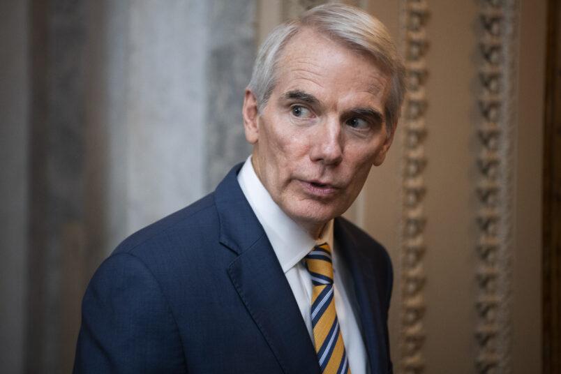Portman complains about Pelosi's plans to accept infrastructure proposals